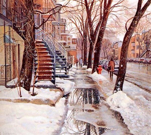 City Under The Snow Andris Leimanis