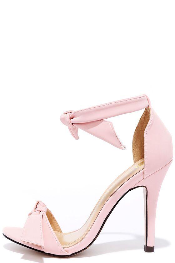 1000  ideas about Light Pink Heels on Pinterest | Pink heels ...