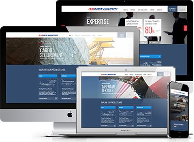 An international business with a pivotal technological role in air cargo, air frames, and RPG protection: a niche, specialist industry. We wanted to create modernity whilst retaining the decades of brand recognition that has been engineered as carefully as their products #website #webdesign #amsafebridport #aerospace #defence #responsive