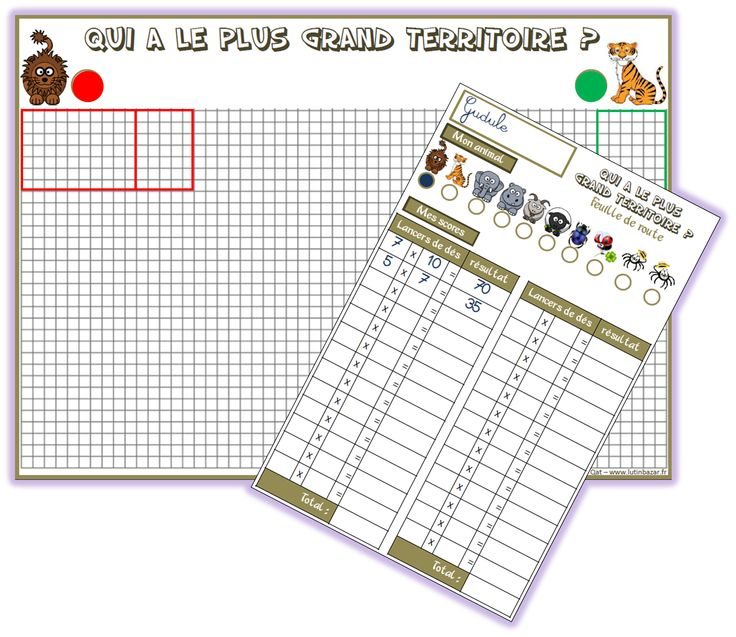 122 best images about ce1 on pinterest pirates jogging for Les multiplications