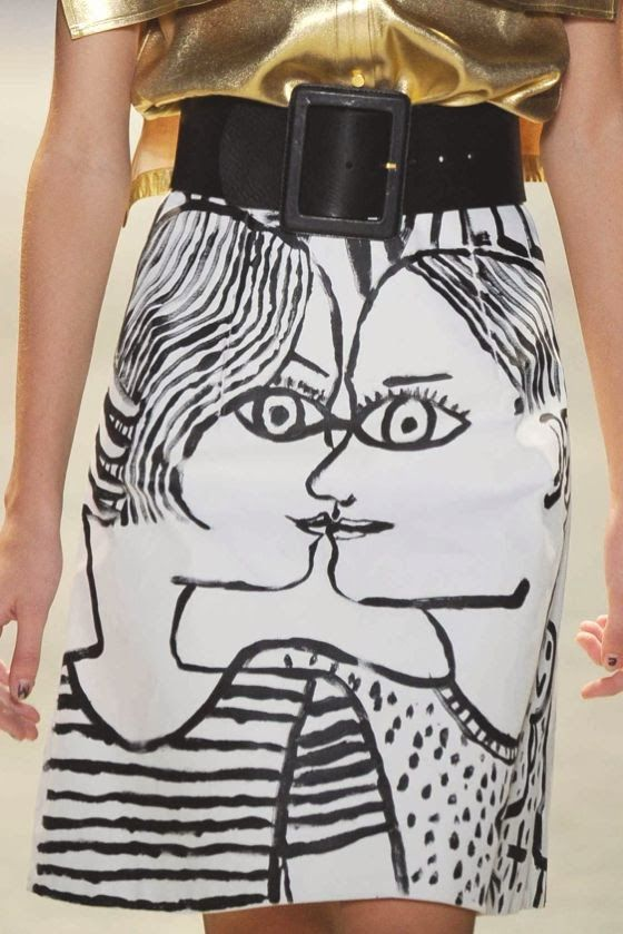 patternprints journal: PRINTS, PATTERNS AND DETAILS FROM S/S 14 WOMENSWEAR COLLECTIONS, PARIS FASHION WEEK / 5