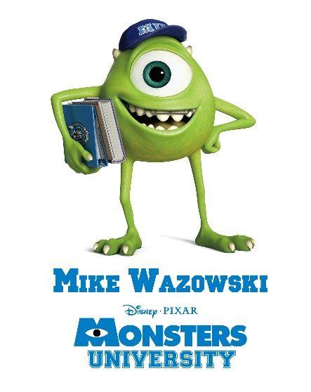 Meet a few of the Disney Pixar Monsters University Students!