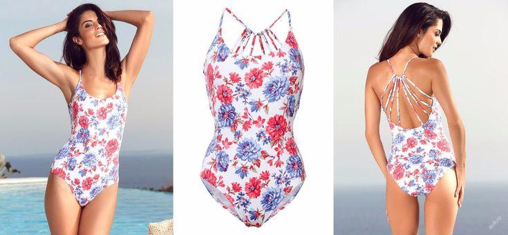 NOVÉ  ,,HEINE moderní květované plavky vel.40 :: AVENTE  ...móda s nápadem