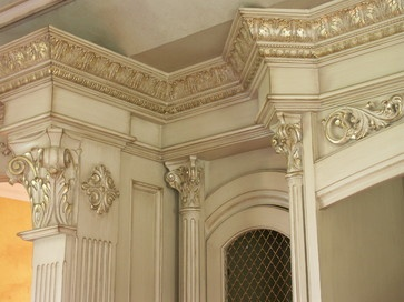 1000 images about architectural salvage molding columns for Crown columns