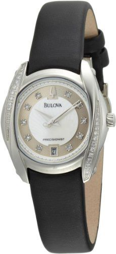 Bulova Women's 96R140 Precisionist Tanglewood Diamond Watch >>> Details can be found by clicking on the image.
