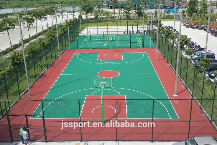 25 best ideas about basketball court on pinterest for Home basketball court cost