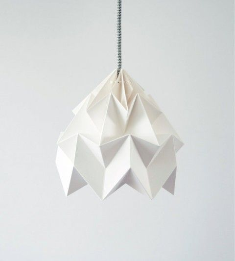 Dutch design studio Snowpuppe makes incredibly beautiful paper lamps. Get them over on Etsy.