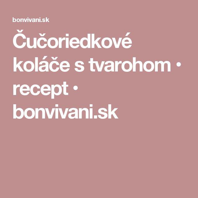 Čučoriedkové koláče s tvarohom • recept • bonvivani.sk