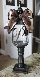 Candy Jar. Great gift idea for easy coworker or teacher gift.
