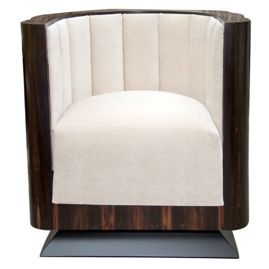 I chose this because i have always thought chairs like this were cool its like the old version of a mushroom chair 1920's Art Deco  furniture