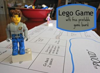 Lego Game... directions and a free printable Game Board!!!