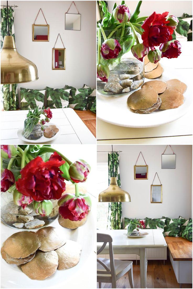 Blumen- und Wanddeko fürs Esszimmer