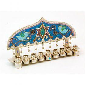 Menorah Store - Buy Seven Branch and Hanukkah Menorahs | aJudaica.com