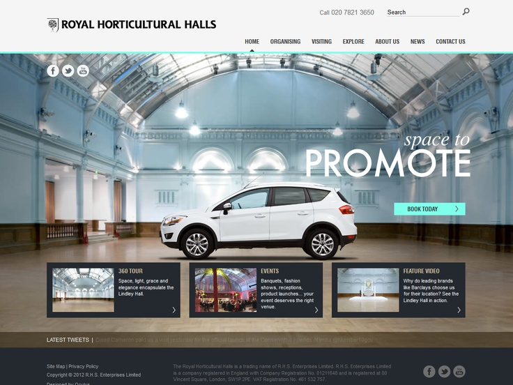 Top 10 Kentico Websites for June 2012 http://devnet.kentico.com/Blogs/Lenka-Navratilova/July-2012/Top-10-Kentico-Websites-for-June-2012.aspx The Royal Horticultural Halls  Implemented by:  Oculus Design & Communications, United Kingdom  Kentico Gold Partner