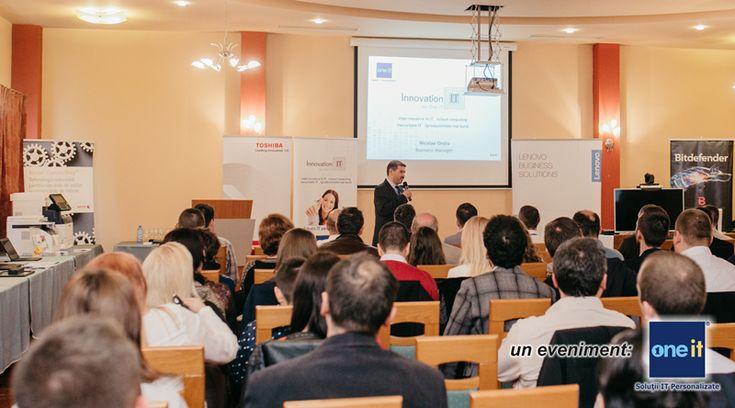 """""""Innovation IT în Baia Mare"""", eveniment dedicat clienţilor business One-IT / Aniversare 12 Ani de activitate - One-IT blog   One-IT blog"""