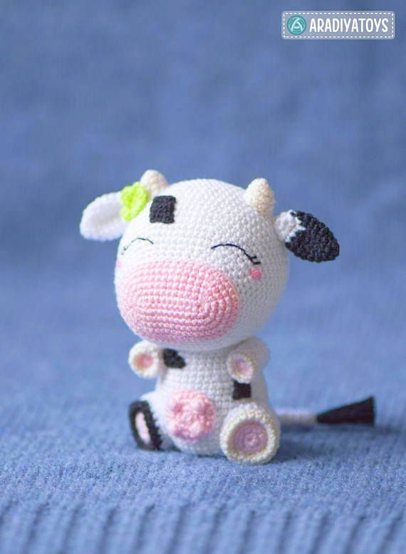 Klaartje the cow amigurumi pattern - Amigurumipatterns.net | 777x570