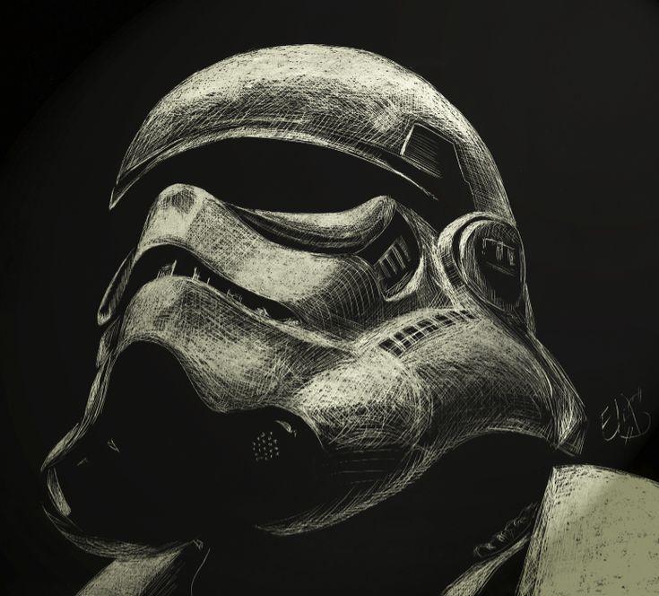 #Stormtrooper fan art | Art § Star Wars | Pinterest