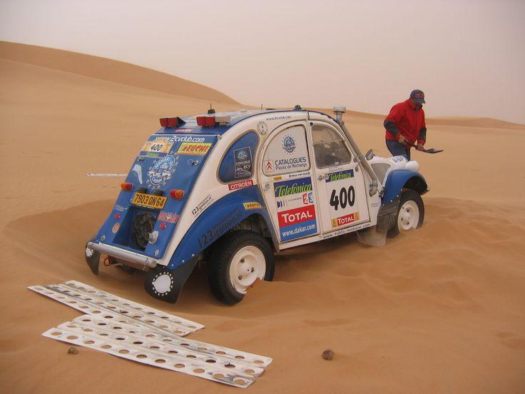 Dakar Citroen 2CV