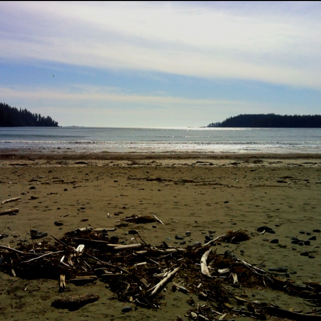 Pachena Bay is approximately 3 kilometres (km) south of Bamfield, and about a 1.5 hour drive from Port Alberni, BC.