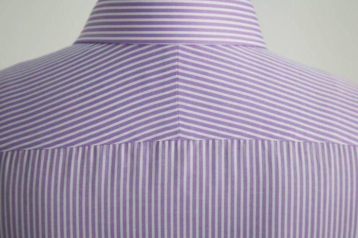A split yoke is indicative of a higher quality shirt.