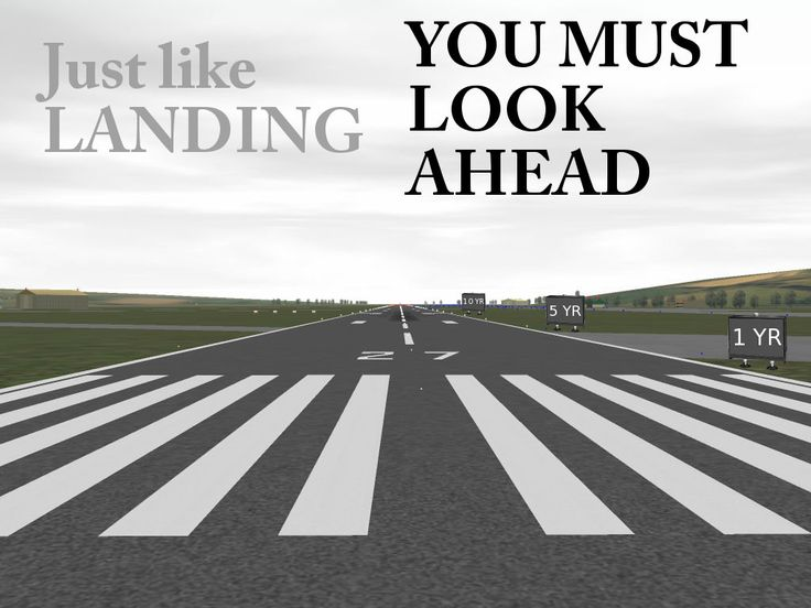 flying goals Re landing- if only someone had told me this at the beginning! lsp