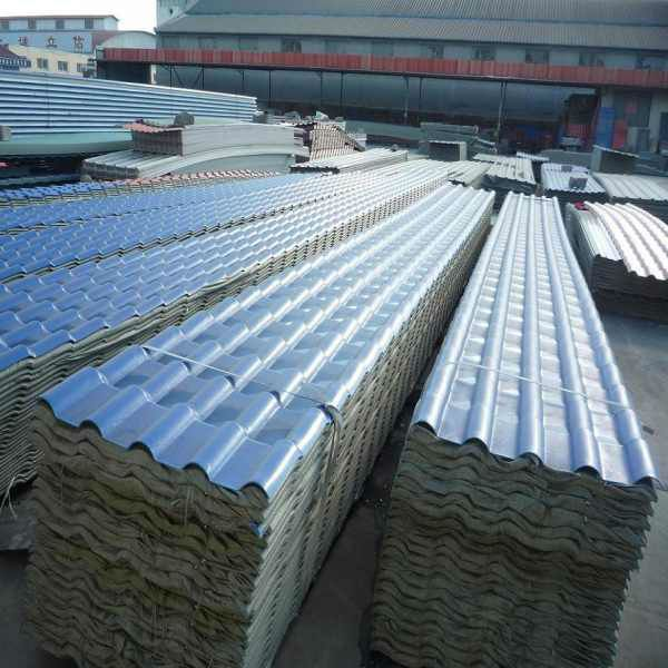 Cheap corrugated synthetic tile roofing $5~$10