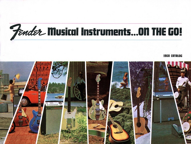 The Fender catalogue of 1968.