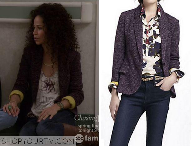 The Fosters: Season 2 Episode 21 Lena's Purple Blazer