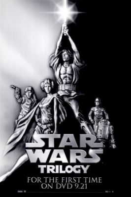 STAR WARS : Costumes and Toys : Star Wars Poster Star Wars Trilogy - 69 x 102 cm