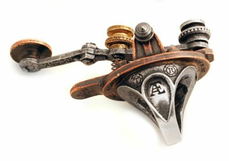 Alchemy The J-32m Electrical Telegraph Finger Tapper Ring Steampunk