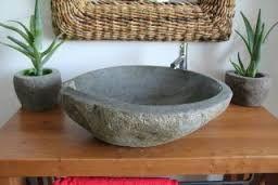 Risultati immagini per lavello pietra bagno