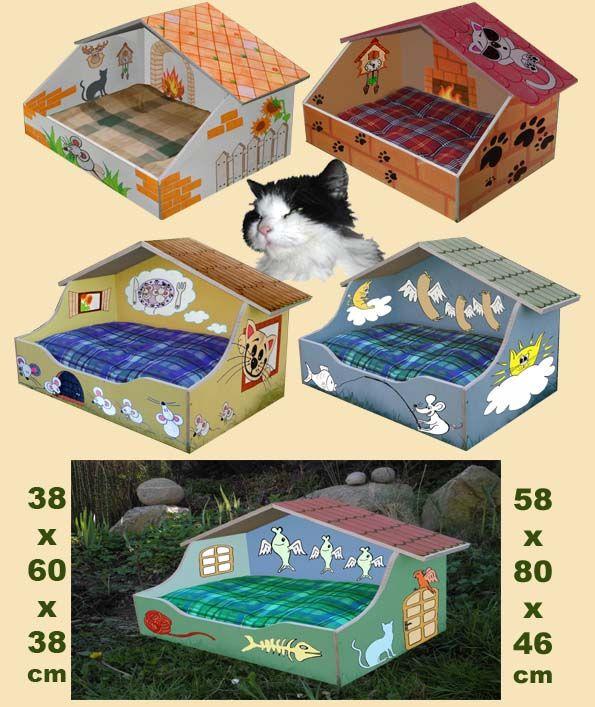 Pelíšky pro kočky ARNY od SKYWANDER