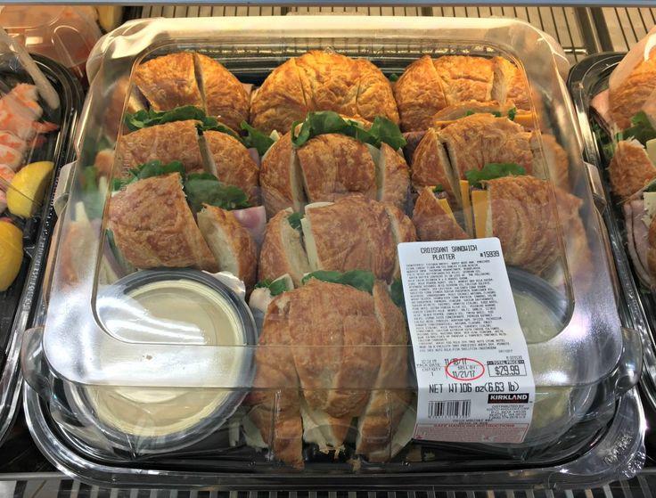 Costco Croissant Sandwich Tray