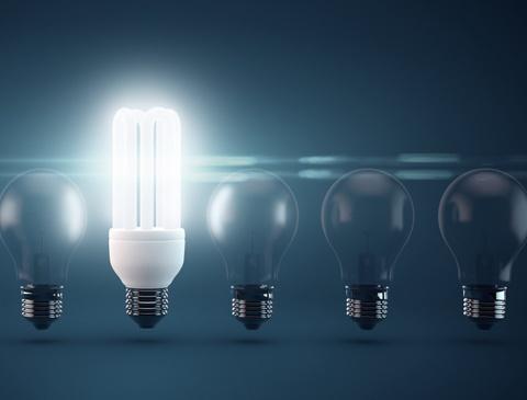 Epic Den Stromverbrauch auf einen Viertel gesenkt Bei der Beleuchtung in Schweizer Wohnungen kann