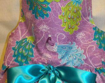 Vestido de pavo real