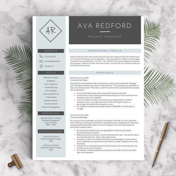 126 best Resume Templates images on Pinterest Resume templates - professional medical resume template