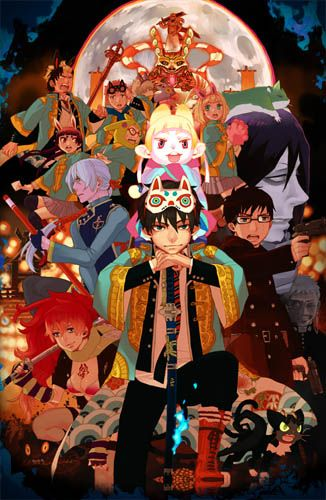 Blue Exorcist, also known as Ao no Exorcist, is an action comedy fantasy shonen…