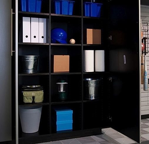 Every Garage Needs Ample Separated #storage Space Like The Inside Of This  Cabinet! From