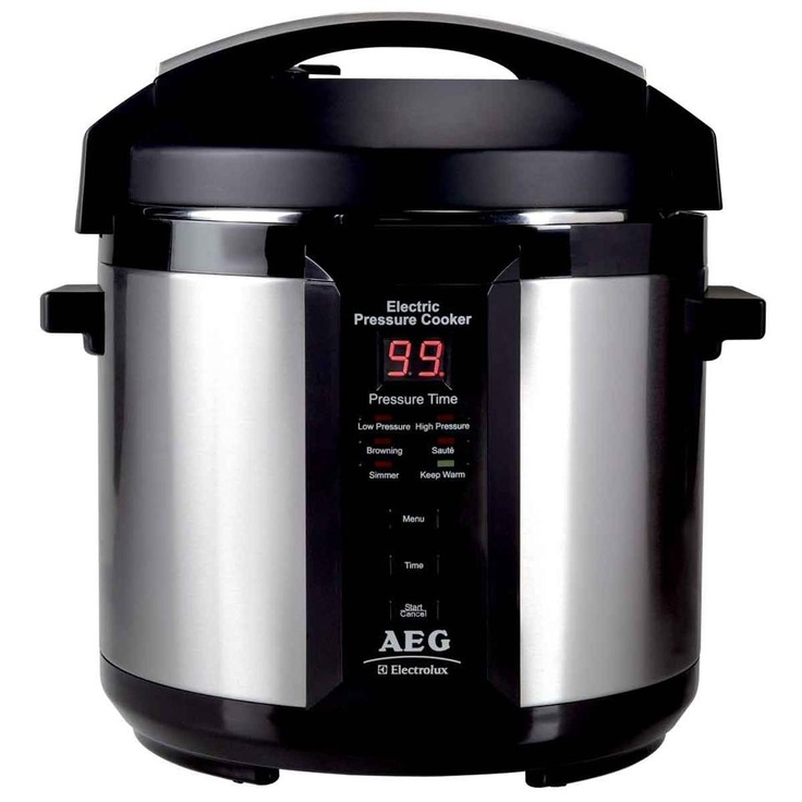 AEG Pressure Cooker A Speedy Pressure Cooker Will Give You More Time For Living. A perfect gift for Mother's Day!