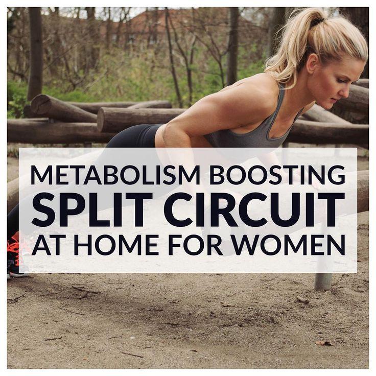 ⬆︎ your EPOC & become a fat-burning machine with today's #Strength & #Cardio Split #Workout!  http://www.spotebi.com/workout-routines/upper-body-cardio-split-workout/ @spotebi