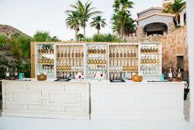 Tequila Bar at Destination Wedding Photography: Sara Richardson Photography Read More: http://www.insideweddings.com/weddings/wags-barbie-blank-hockey-player-sheldon-sourays-mexico-wedding/964/