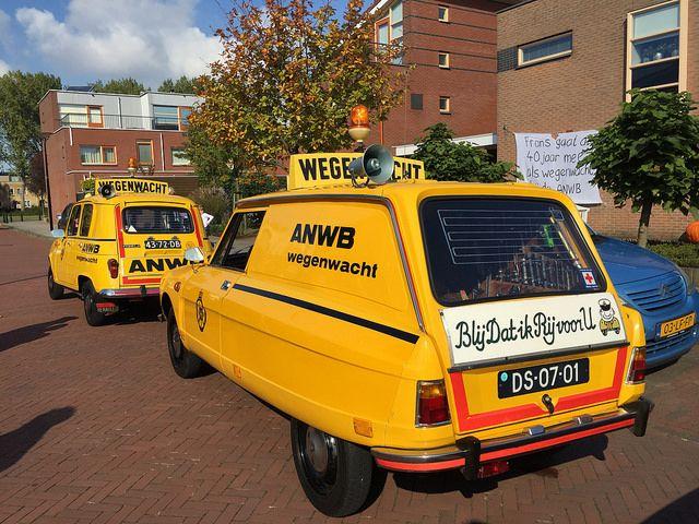 OG   Citroen Ami Service   #Wegenwacht #ANWB
