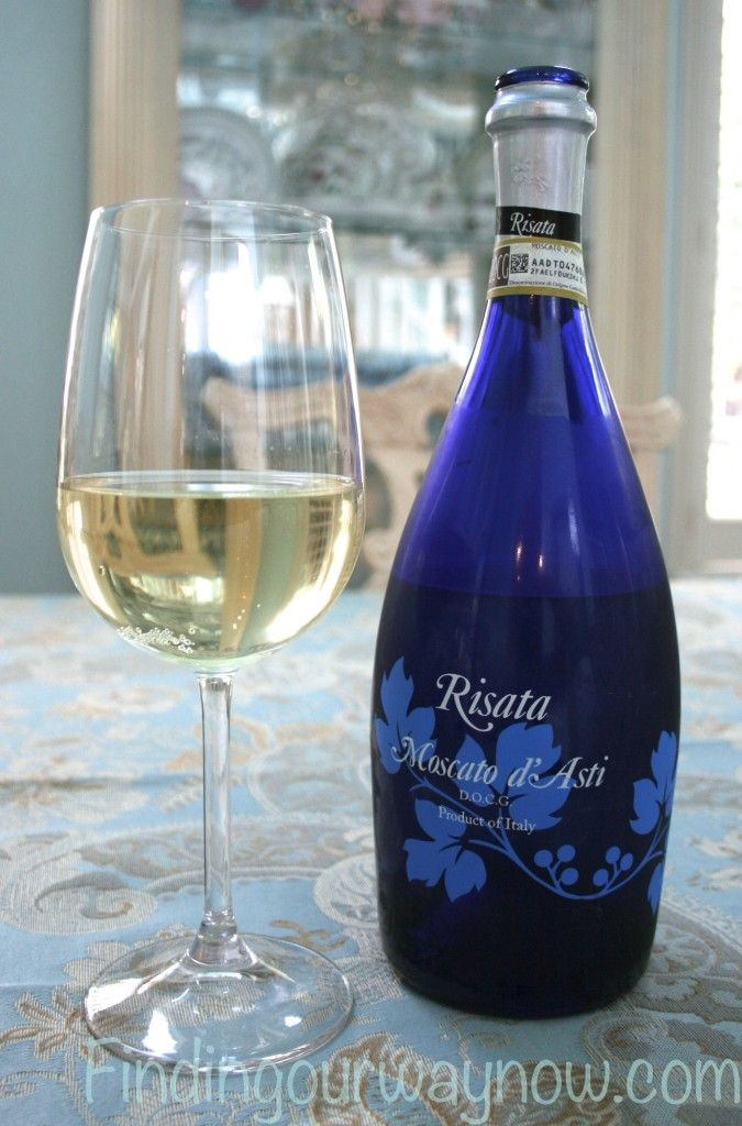 This Risata Moscato d'Asti was a delightfully light and refreshing wine - Risata Moscato d'Asti: Wine - Finding Our Way Now