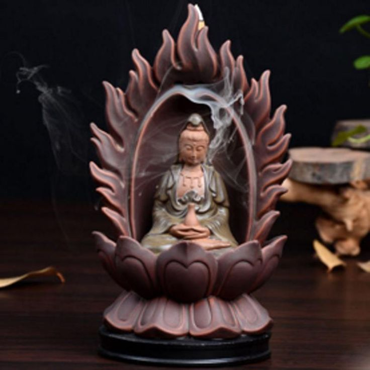 MOYLOR Ceramic Guanyin Tathagata Incense Burner    #香炉#incense burner#Quemador de incienso#Благовонная горелка#Br?leur d'encens#R?uchergef??#moylor