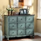 Orofino Antique Green and Brown Chest