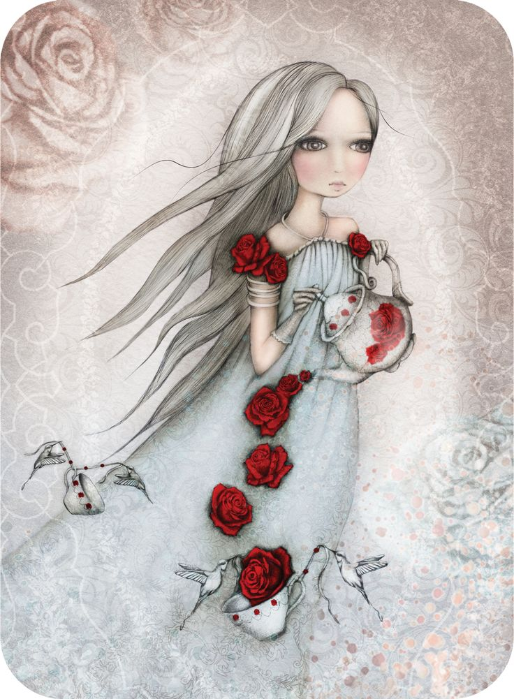 Enchanting and elegant, our beautiful Rose Tea greeting card is just exquisite!  Shop at: http://www.santoro-london.com/shop/santoros-eclectic-cards-rose-tea.html