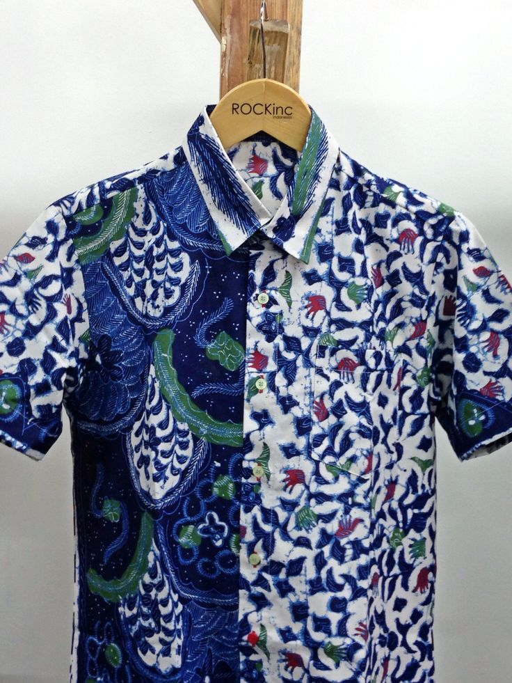 ROCKinc Man | Batik September edition Cotton printed in Batik Madura pattern Follow our twitter @rockincstore