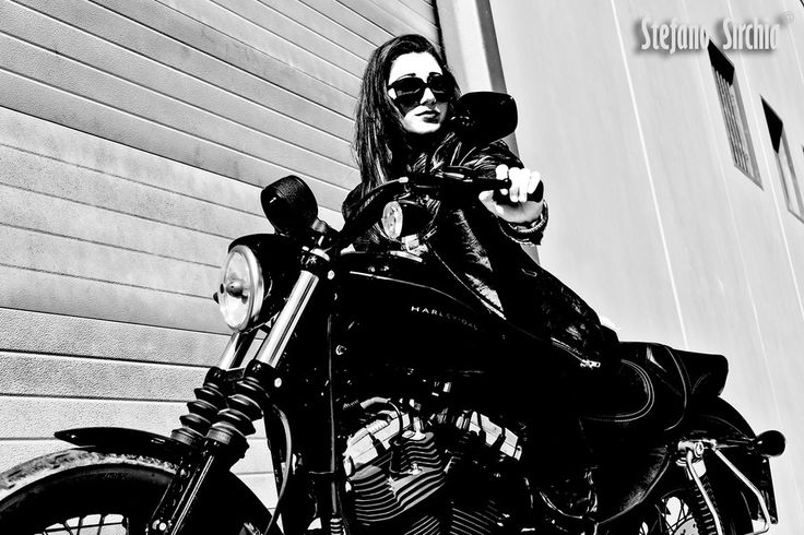 Harley Girl by Stefano Sirchia on 500px