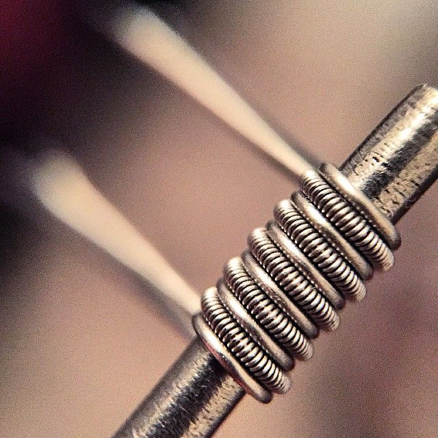 clapton parallel coils are deff one of my favorites to make and vape they are also a hott item. Black Bedroom Furniture Sets. Home Design Ideas