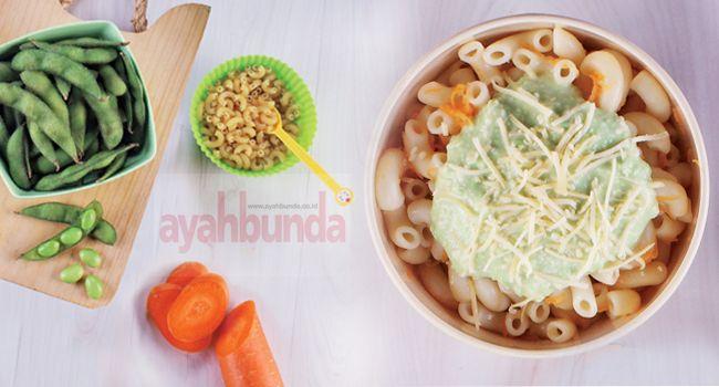 BABY FOOD - Pasta Siram Saus Edamame